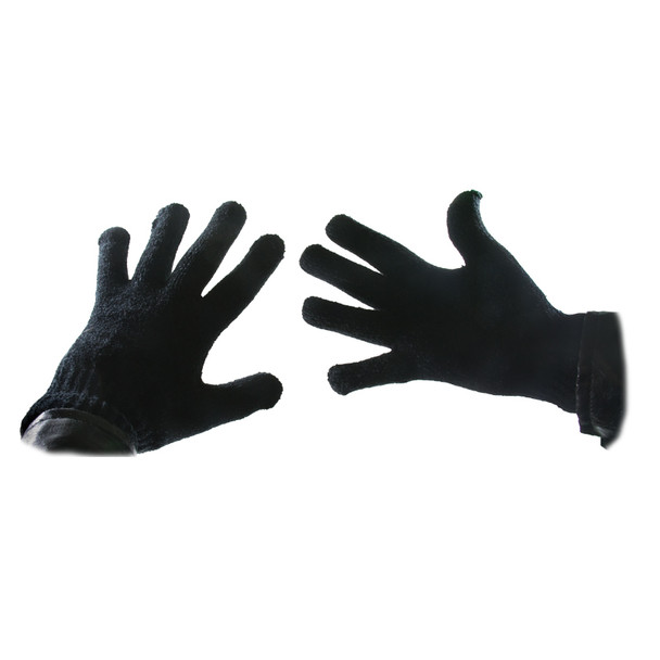 Black Chenille Gloves 5050