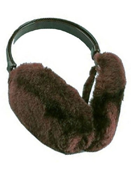 Brown Furry Ear Warmers 6709