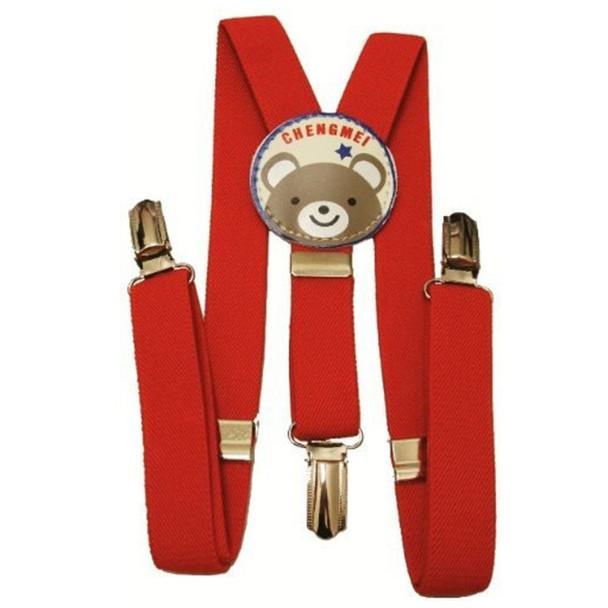 Red Child Suspenders 1297