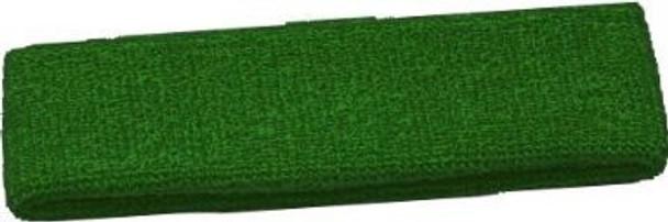 Green Terry Cool Headbands 3090