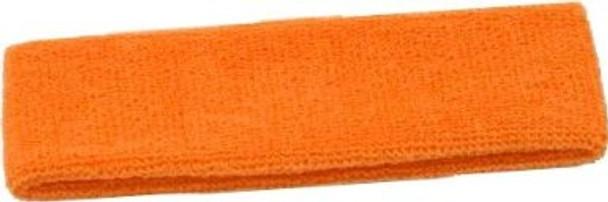 Orange Terry Cloth Sweatband/Headband 3094