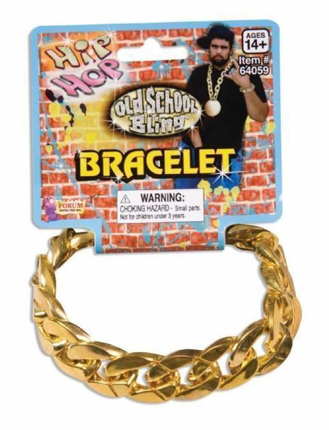Hip Hop Bracelets |  Bling Bling Bracelet  | Gold Chain Bracelet | 6548