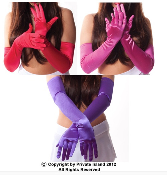 """Wholesale Satin Gloves 