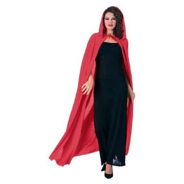 Red Hooded Cape 4526