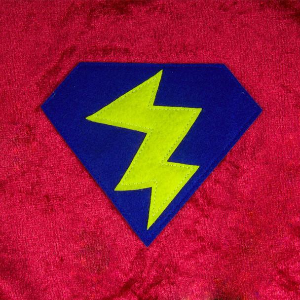 Child Superhero Red Cape 4700