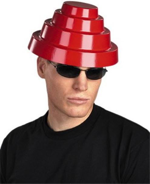 Devo Red Plastic Helmet 1503