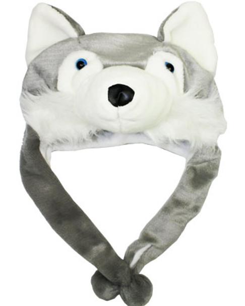 Wolf Hat Siberian Plush 5848