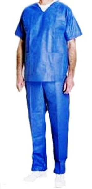 "Doctor Scrubs - Top and Bottom Set Large 38"" 12 PACK  4355"