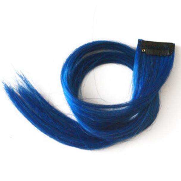 Blue Hair Extensions 6149