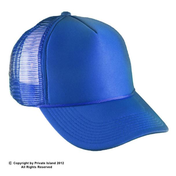 Royal Blue Trucker Caps  12 PACK 1584