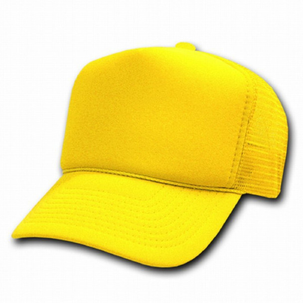 Neon Yellow Trucker Cap 12 PACK 1587