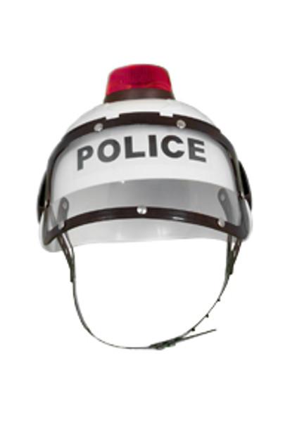 Police Helmet with Light 5955