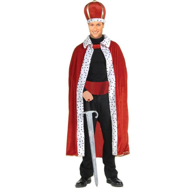 King Robe & Crown Costume Adult 4390