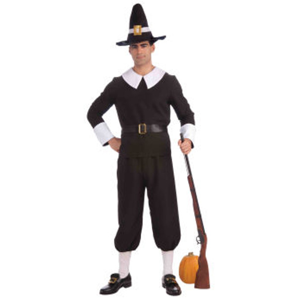 Thanksgiving Costumes | Pilgrim Costumes | Pilgrim Man  4118