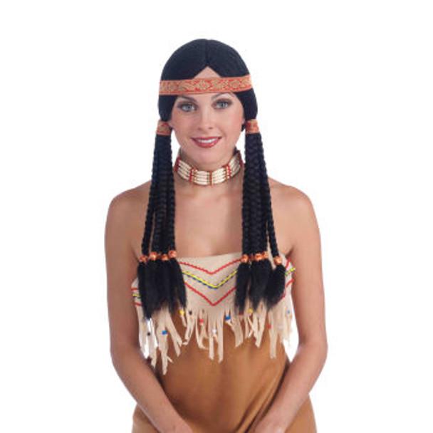 Wig Maiden Native American 6060