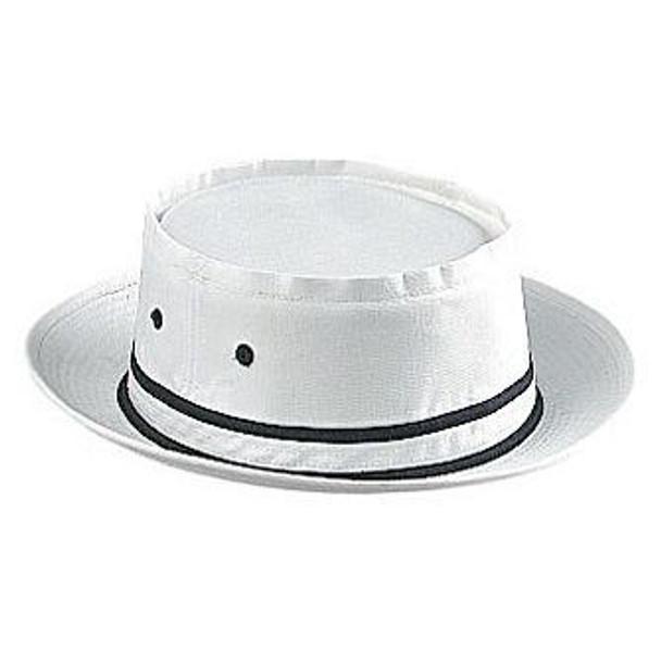 "Fisherman Bucket Hat White Premium 22.5"" Adult 5821"