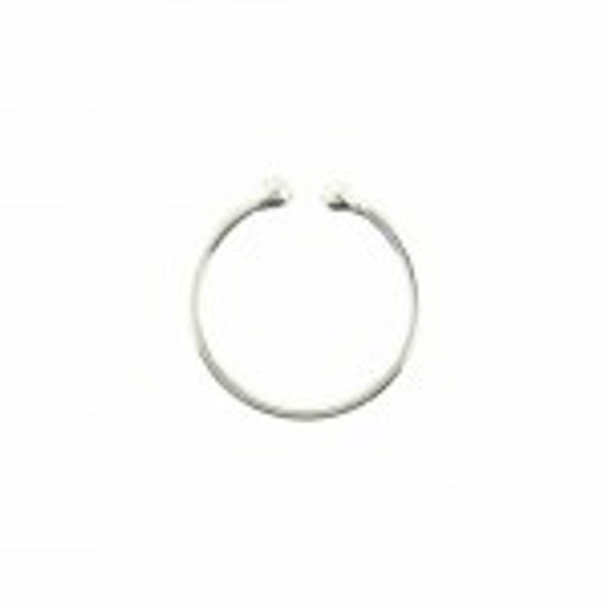 2 pack Silver Body Piercing Ring 6527