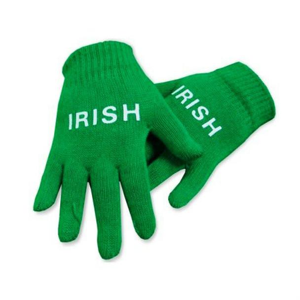 St. Patricks Green Magic Gloves 12 PACK 5202