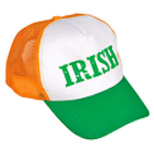 St. Patricks Irish Trucker Green/Orange Cap 5957