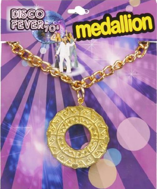 70's Disco Costume Medallion 6604