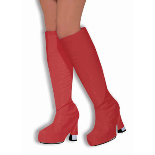 60's Mod Red Go Go Boot Tops 8585