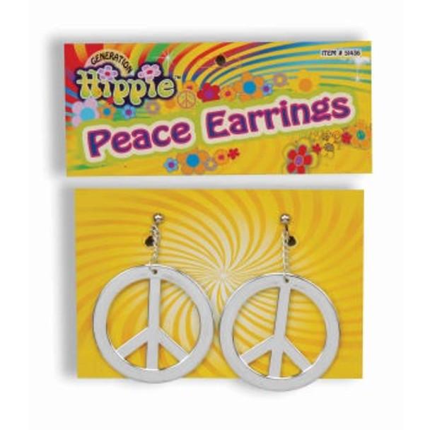Hippie Peace Earrings 6688