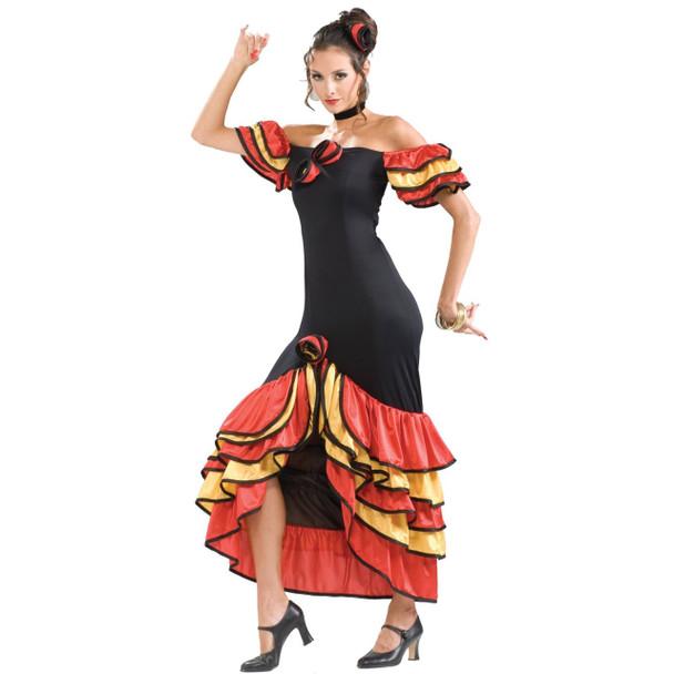 Spanish Lady Senorita Adult Costume 4423