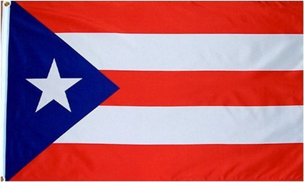 12 PACK Wholesale Puerto Rican Pride Flags 3' X 5' FT 9095