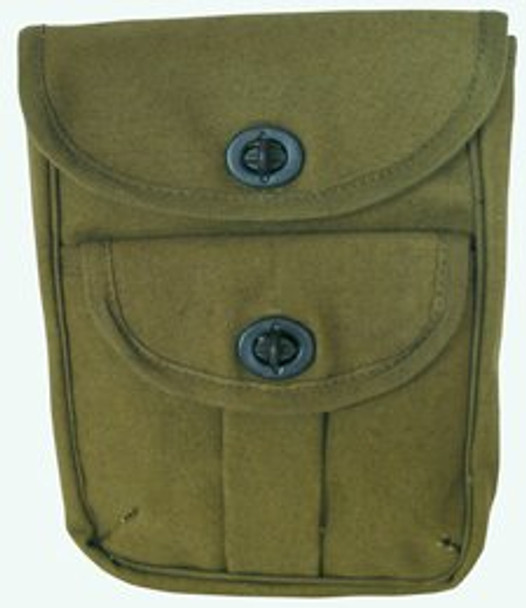 2 Pocket Ammo Pouch Wallet Olive 3352