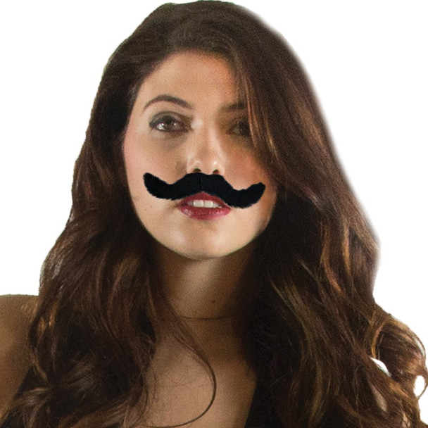 Fake Bulk Mustaches | 12 PACK 1618