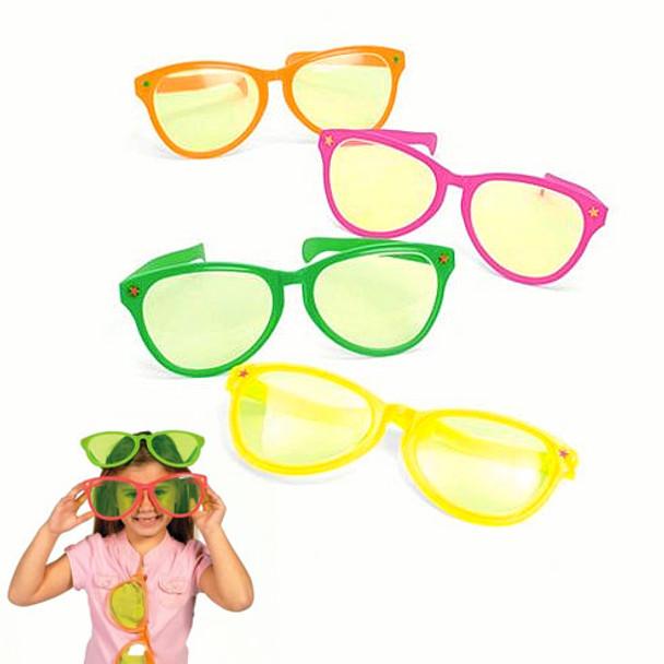 Jumbo Sunglasses Mixed Colors 12 PACK 7122