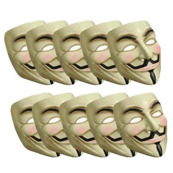 Dozen V for Vendetta masks