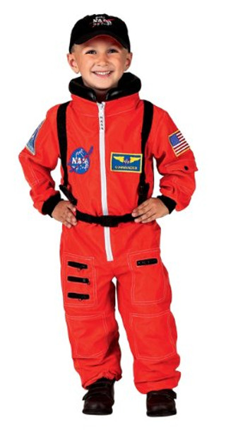 NASA Jr. Astronaut Suit/Child Costume 4638