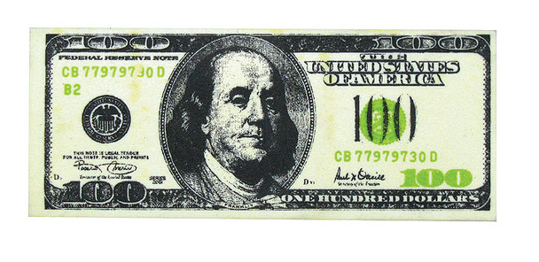 100 Dollar Bill Erasers 10110