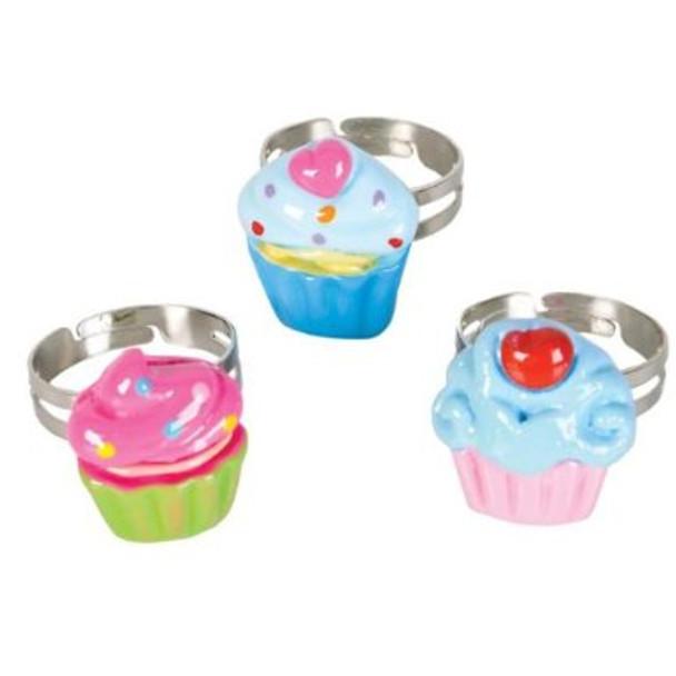 Cupcake Rings 6687