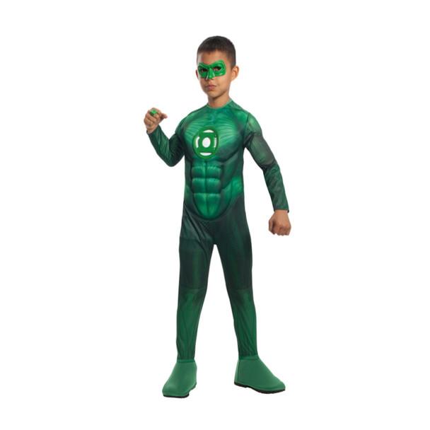 Green Lantern Hal Jordan Child Costume 4707S-4707L