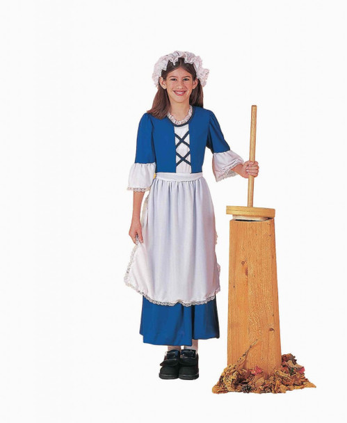 Colonial Girl Child Costume 4710S-4710L