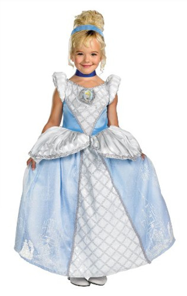 Cinderella Storybook Prestige Toddler Child Costume 4719T-4719S