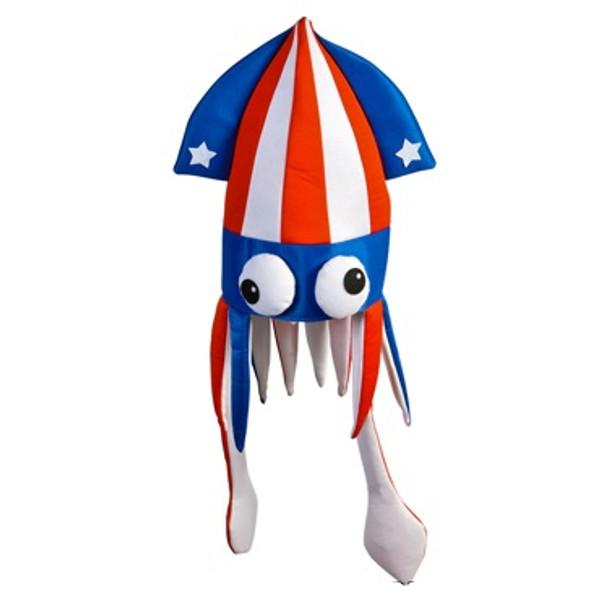Patriotic Squid Hat 5937