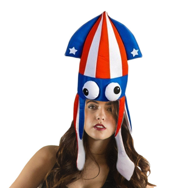 Patriotic Squid Hat 5937