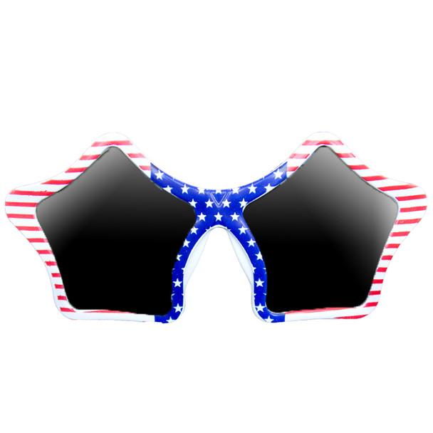 Patriotic Star Sunglasses 12 PACK 7123
