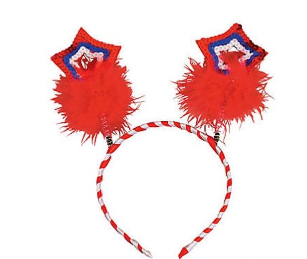 Patriotic Star Boppers 12 PACK  9134