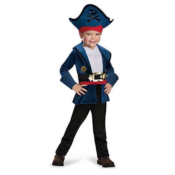 Disney Jake And The Neverland Pirates Jake Deluxe Child Costume