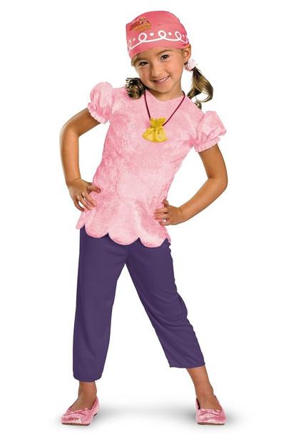 Disney Jake And The Neverland Pirates Izzy Classic Child Costume