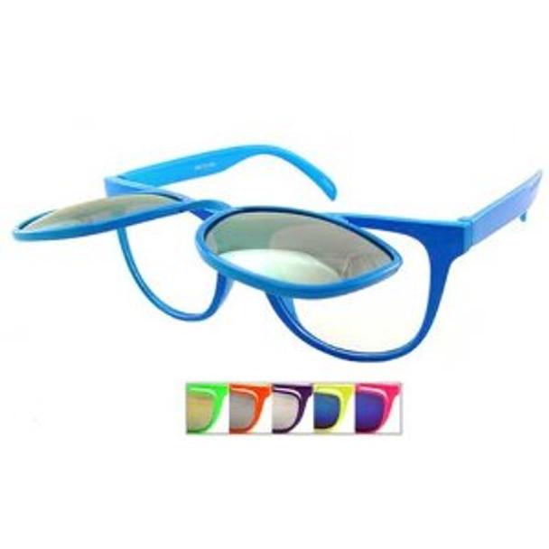 Flipup Sunglasses Bulk | Flip Sunglasses Bulk 1040D 12PK
