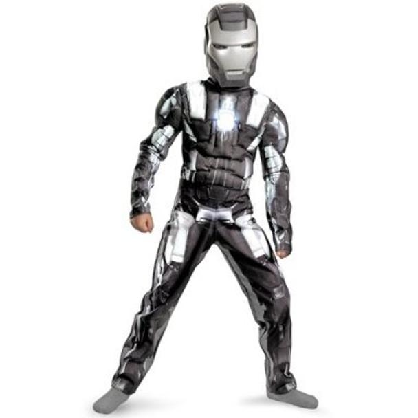 Iron Man 2 War Machine Classic Muscle Child Costume
