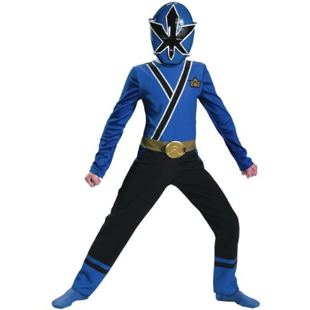 Blue Ranger Samurai Classic Child Costume