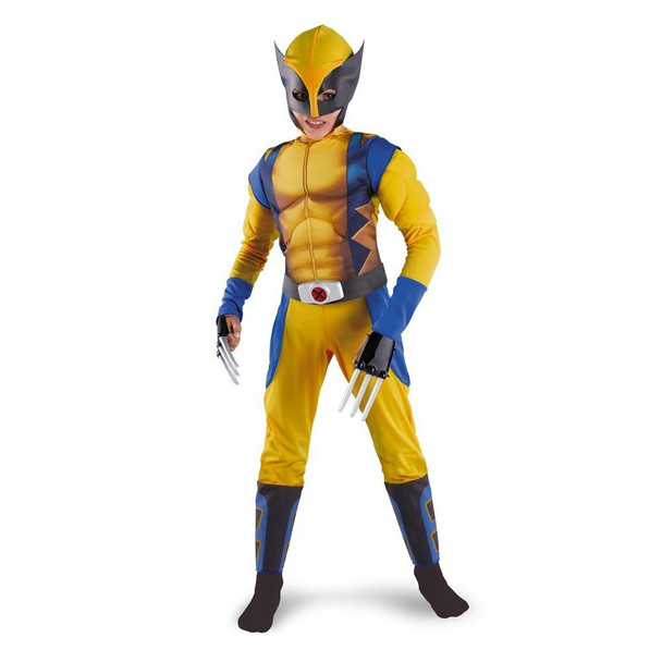 Wolverine Origins Classic Muscle Child Costume