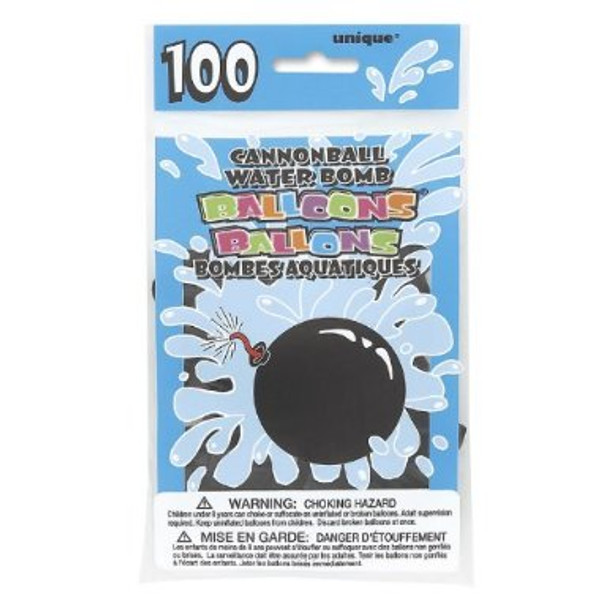 Water Balloons Cannon Balls 100 Pack 9142