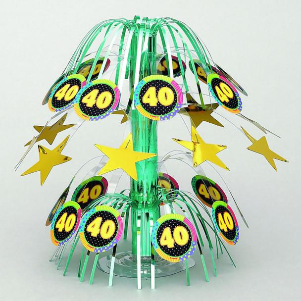 """Infinite Birthday """"40"""" Centerpiece 3810"""